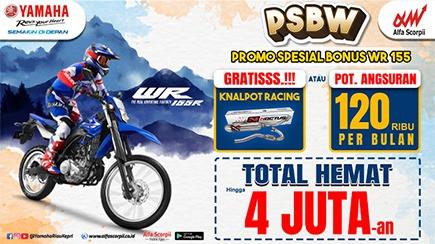 PSBW Yamaha, Promo Spesial Bonus WR-155