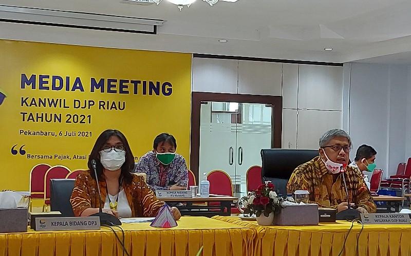 Sebanyak 5.669 Wajib Pajak di Riau Dapat Insentif Covid-19 Senilai Rp201 Miliar