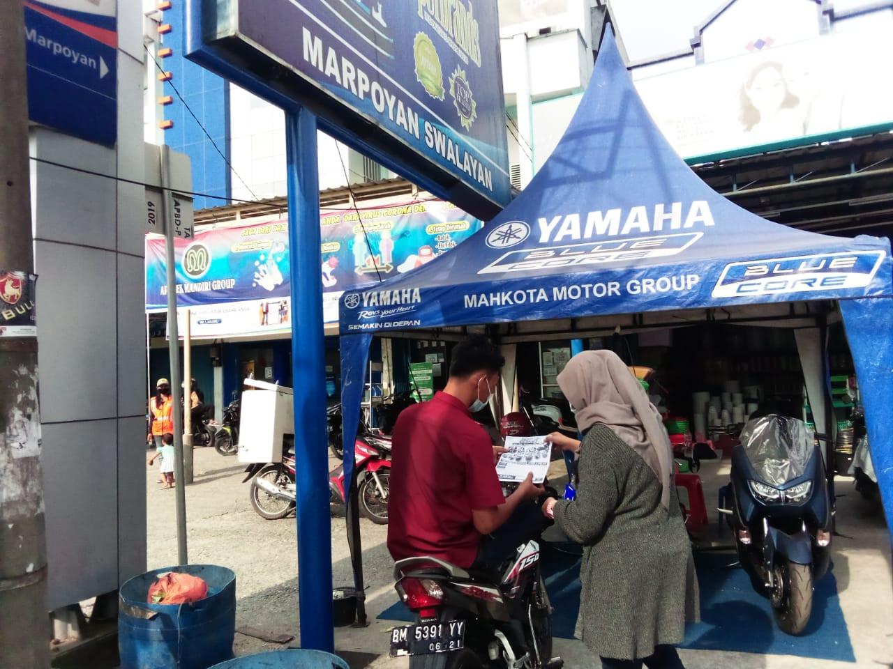 Yamaha Maxi Exhibition Khusus Hadir di Marpoyan Swalayan