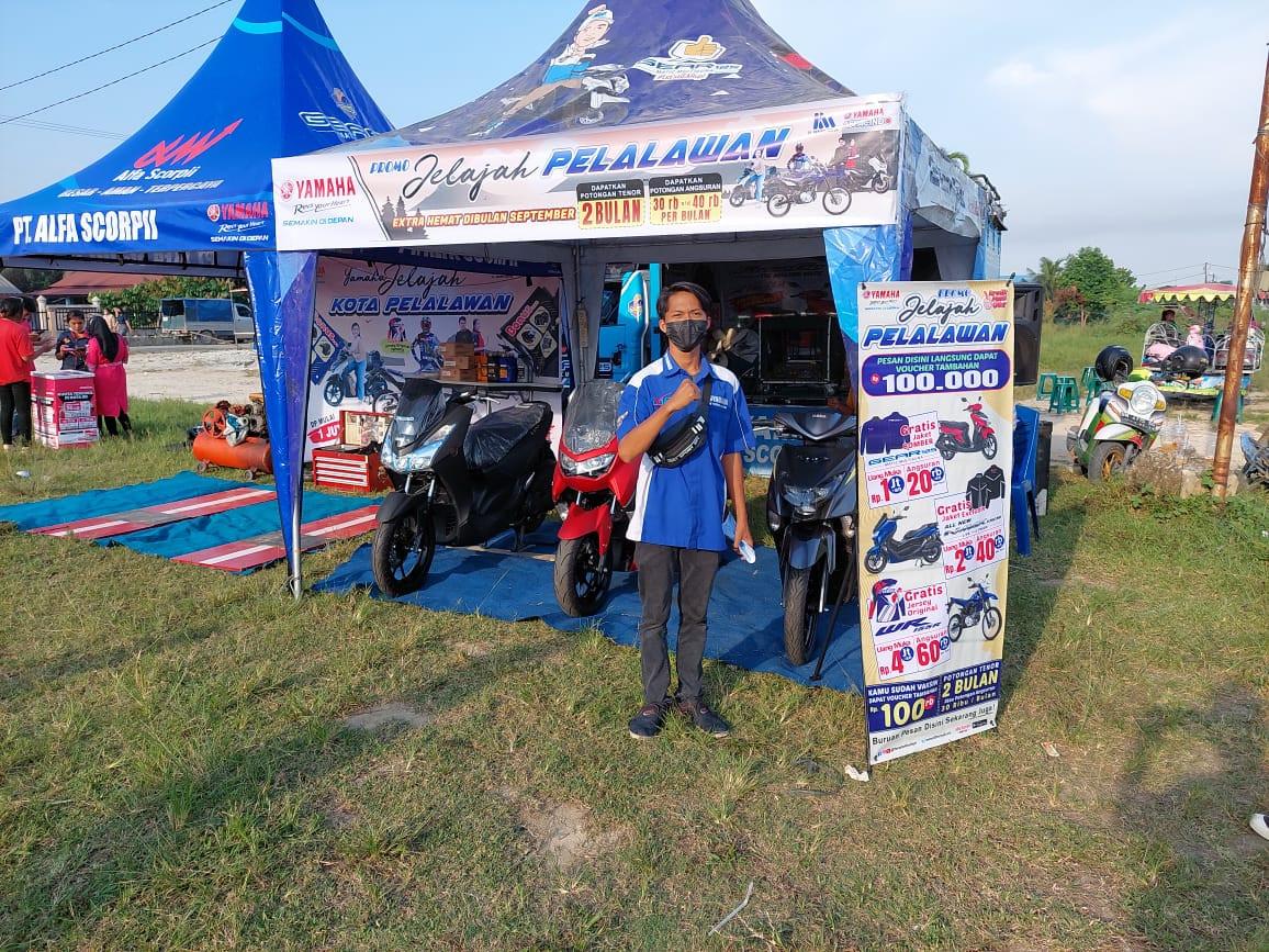 Yamaha Alfa Scorpii Gelar Pameran Jelajah Pelalawan, Dapatkan Promo Khusus dan Istimewa