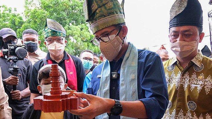 Janji Sandiaga Uno untuk Riau saat Melihat Tempat Wisata di Riau, Gubernur Syamsuar Tersenyum